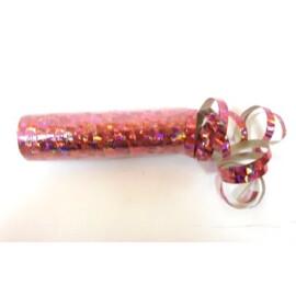 Серпентини холограма розова