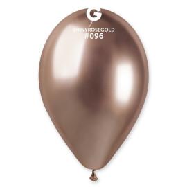 Балони хром 33см. - розово злато #096 - GB120