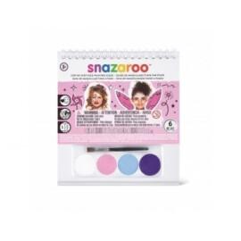 Комплект бои за лице - 4 цвята