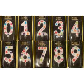 Парти свещи цифри Гигант