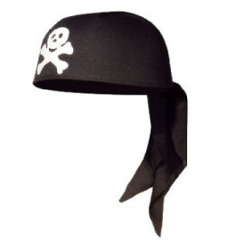 Шапка кърпа пират