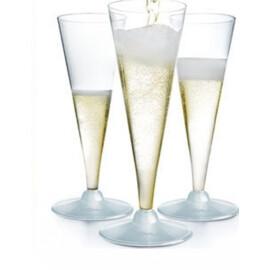 Чаша със столче - шампанско - 10бр.