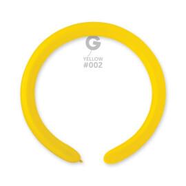 Моделиращи балони 5 см. - жълти #002 - D4